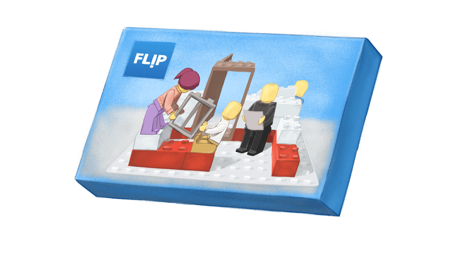 A lego-like package for Flip